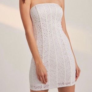 NWT Urban Outfitters Kimchi Blue Lyla White Lace